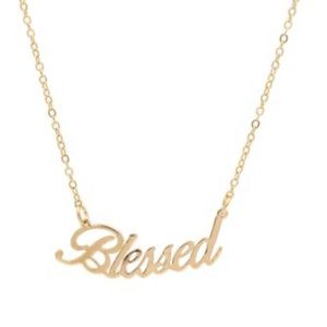 4/$25 New Blessed Necklace